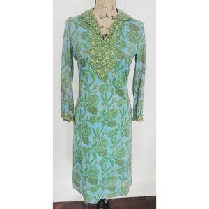 Vintage Women's R&k originals boho 70s dress